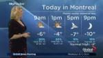 Global News Morning weather forecast: Monday, February 12