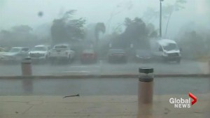 Collier County, FL battered by high winds as eye of Hurricane Irma bears down