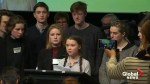 'Time is running out' on climate, Swedish teen activist tells EU officials