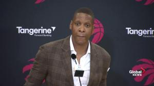 Masai Ujiri 'confident' Kawai Leonard will want to play for Toronto