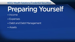 Dwayne Henne from KCCU Wealth Solutions/ Credential Securities offers advice for those who have been recently laid-off