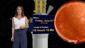 B.C. evening weather forecast: June 18,
