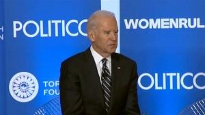 Joe Biden responds to CIA torture report