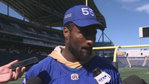 RAW: Blue Bombers Jamaal Westerman – Sept. 20