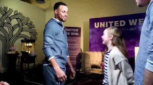 NBA star Stephen Curry surprises 9-year-old fan after she inquired why his shoe wasn't available in girls sizes