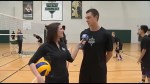 CHEX Daily checks out a Trent Varsity Volleyball Practice