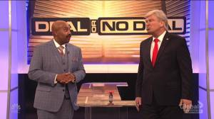 Donald Trump returns to SNL to play 'Deal or No Deal' to end government shutdown