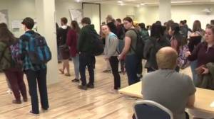 Record turnout as Albertans cast early votes