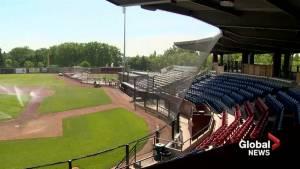 Renovated Spitz Stadium opens to public on Friday (01:42)