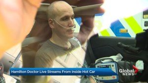 Hamilton doctor takes 'hot car challenge'