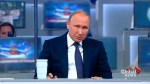 Get an inside look at a televised Vladimir Putin roundtable