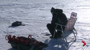 Frosty but fun: the 'Lowe Down' on ice fishing