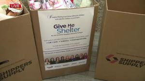Give Me Shelter all-day donation drive underway at Global Edmonton
