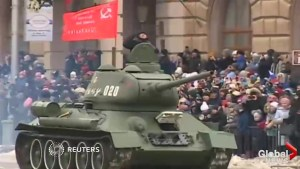 Russian military holds parade in honour of WWII Battle of Stalingrad