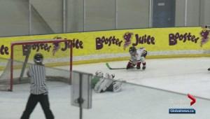 Highlights from Calgary's Mavericks Novice Spring Classic Hockey Tournament