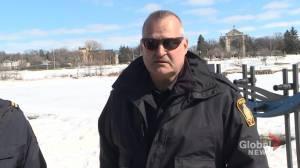 Danger – thin ice: Winnipeg authorities urge residents to stay safe