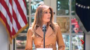 Melania Trump's 'Be Best' campaign meets mixed response