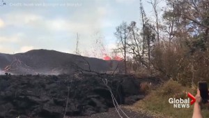 New USGS video shows lava spewing from new 'cracks' in Hawaii volcanic eruption