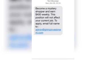 How the 'mystery shopper' scam fooled a young mother, a