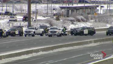 Morning crash slows traffic on Highway 403 near Linc for