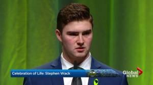 Curtis Peck remembers friend Stephen Wack