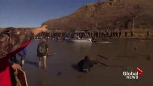 Protests against Dakota access oil pipeline increasing
