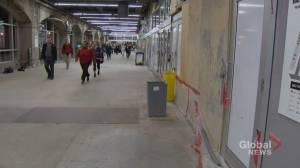 Woman hit, injured by falling concrete at Toronto's Union Station