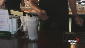 West Island bar ditches plastic straws