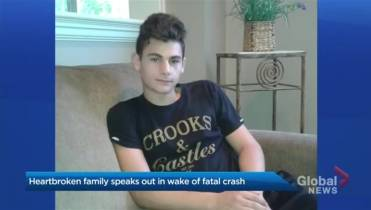 Mother speaks out about son's death following Vaughan collision