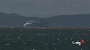 High winds lead to several BC Ferries cancellations