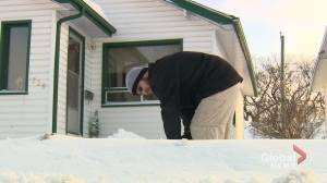 Southern Manitoba wakes to heavy snow Monday