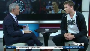 Jakob Poeltl answers some Raptors trivia