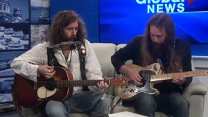 Blues musician Richie Young visits Global News Morning