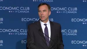 'We're going to move forward with the price on pollution': Morneau