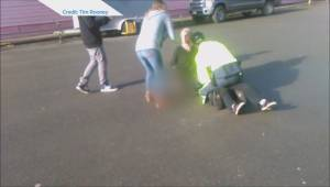 Conflict between Cumberland teen and RCMP officer caught on camera