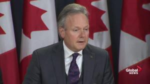 Bank of Canada's unchanged interest rate 'appropriate' for now