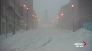 Halifax blizzard causes rough roads, slippery conditions