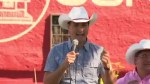 Justin Trudeau talks oil resources during Calgary Stampede rounds