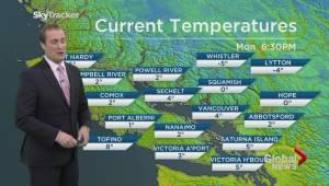 BC Evening Weather Forecast: Jan 11