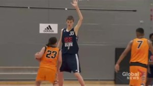 Pre-teen Montreal basketball player turning heads