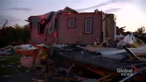 'It's pretty devastating': Homeowners in Ottawa speaks about losing home after tornado hits region