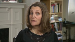 Canada will stand up to Russia: Freeland