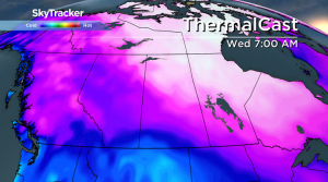 Saskatoon weather outlook: arctic air dives back in ahead