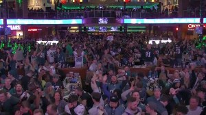 Philadelphia Eagles' fans take to the streets to celebrate team's NFC championship win