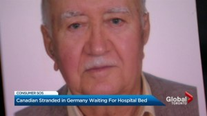 Toronto hospital bed found for 84-year-old man stuck in German hospital