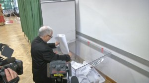 People vote in Poland regional elections