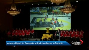 Retired master corporal talks about competing in the Invictus Games in Toronto
