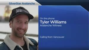 Witness describes SilverStar avalanche