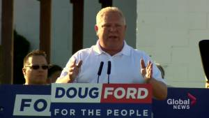 Premier Doug Ford rallies base in Trump-style speech at Ford Fest 2019