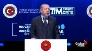 Turkish President Erdogan calls Trump decision on Jerusalem 'entirely provocation'
